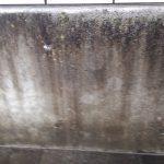コンクリートの水垢クリーニング