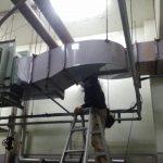 天井ダクト配管クリーニング